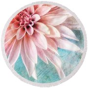 Summer Sweetness Round Beach Towel