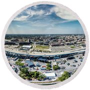 Summerfest Panorama Round Beach Towel