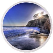 Sun And Sand Round Beach Towel