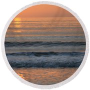Sun Star Round Beach Towel