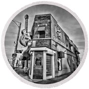 Sun Studio - Memphis #2 Round Beach Towel by Stephen Stookey