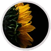 Sunflower Series IIi Round Beach Towel