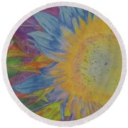 Sunglow Round Beach Towel