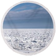 Round Beach Towel featuring the photograph Sunny Afternoon-t3 by Onyonet  Photo Studios
