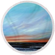 Sunrise And The Morning Star Eastern Shore Round Beach Towel