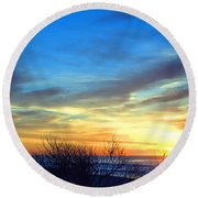 Sunrise Dune I I Round Beach Towel by  Newwwman