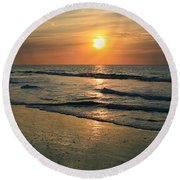 Sunrise Myrtle Beach Round Beach Towel