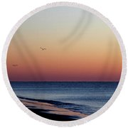 Sunrise On Hilton Head Round Beach Towel