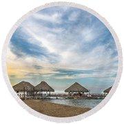 Sunrise Over Hemingway Round Beach Towel
