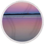 Sunset Magic Round Beach Towel