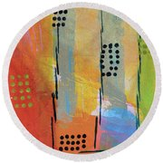 Sunset Park Round Beach Towel