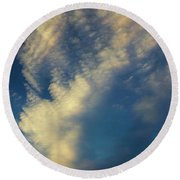 Sunset Stack Round Beach Towel