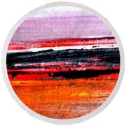 Sunsets Round Beach Towel