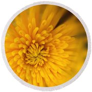 Sunshine Mum Round Beach Towel