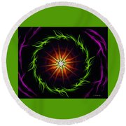 Sunstar Round Beach Towel