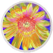Sunsweet Round Beach Towel