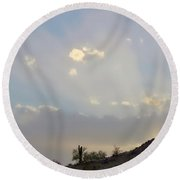 Suntensed Round Beach Towel