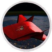 Super Sleigh Round Beach Towel