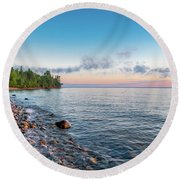 Superior Morning Round Beach Towel
