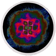 Suppenting Round Beach Towel