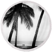Surf Mates Round Beach Towel