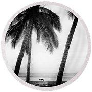Surf Mates Round Beach Towel