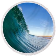 Surface Round Beach Towel by Sean Foster