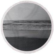 Surfer, San Diego, California, Usa Round Beach Towel