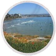 Surfers Round Beach Towel