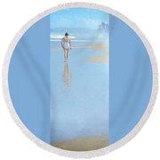 Surfers Paradise Round Beach Towel