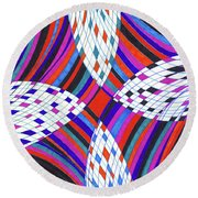 Surprise Round Beach Towel