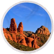 Sweeping Sedona Round Beach Towel