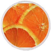 Sweet And Juicy Round Beach Towel