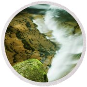 Sweet Creek Round Beach Towel
