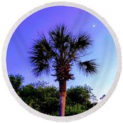 Sweet Dreams Carolinas Round Beach Towel