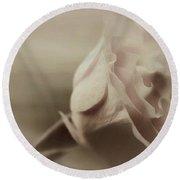 Sweet Eternally Round Beach Towel by The Art Of Marilyn Ridoutt-Greene