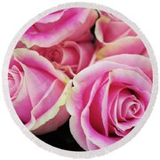 Sweet Rose For All The Lovely Ladies Who Comment On My Work Round Beach Towel