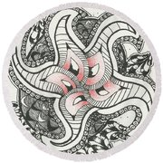 Sweet Spot Round Beach Towel