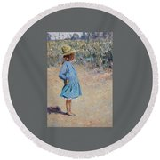 Sweetheart  Round Beach Towel