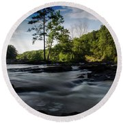 Sweetwater Creek 1 Round Beach Towel