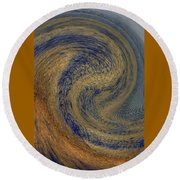 Swirl Round Beach Towel
