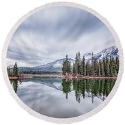 Symphony Of Enchanted Lands Round Beach Towel