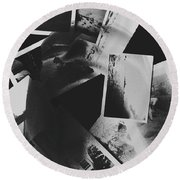 Systematic Recollection Of Memories Round Beach Towel