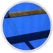 T Point Round Beach Towel by Prakash Ghai