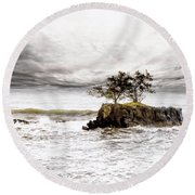 Gorgeous Tahiti Round Beach Towel