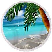 Takemeaway Beach Round Beach Towel