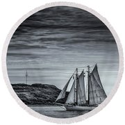 Tall Ships 2009 Round Beach Towel