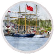 Tall Ships Festival Round Beach Towel
