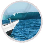 Tani One Cloudbreak Round Beach Towel