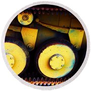 Tank Detail Round Beach Towel